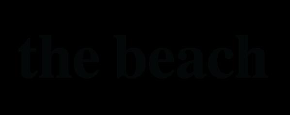 logo the beach